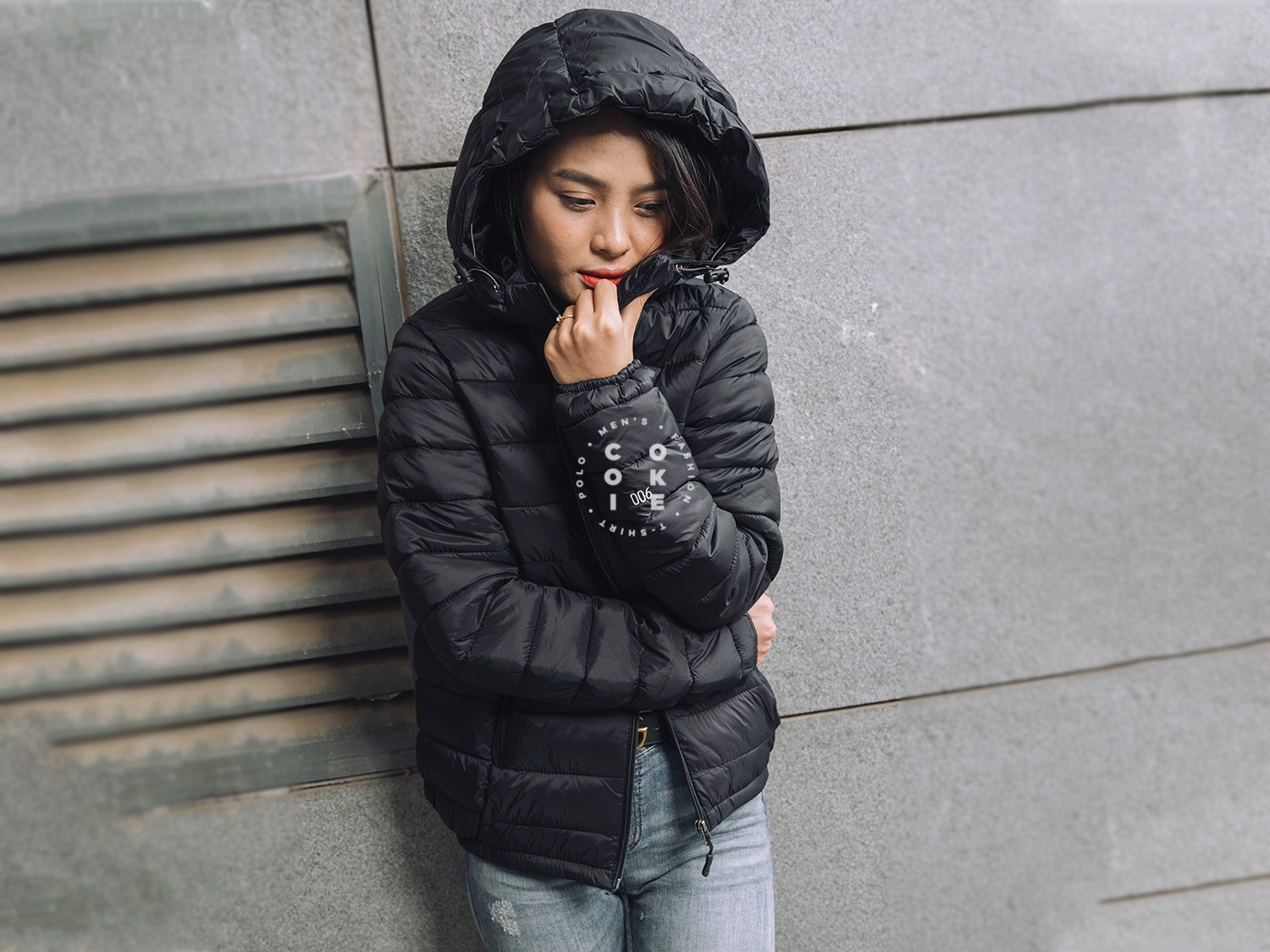 The North Face Stretch Down Jacket - Black (Women's)