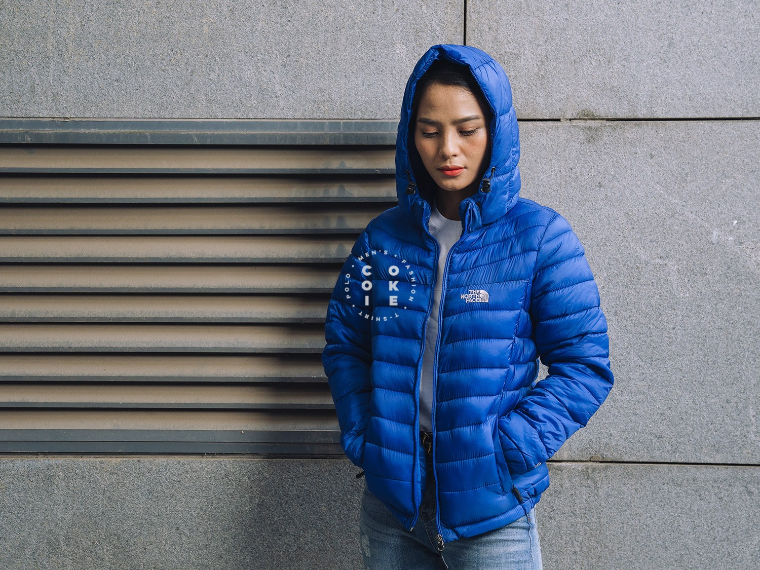 The North Face Stretch Down Jacket - Blue (Women's)
