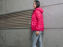 The North Face Stretch Down Jacket - Pink (Women's)