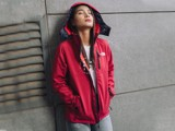 The North Face Women Apex Bionic 2 Hoodie - Red (Women's)