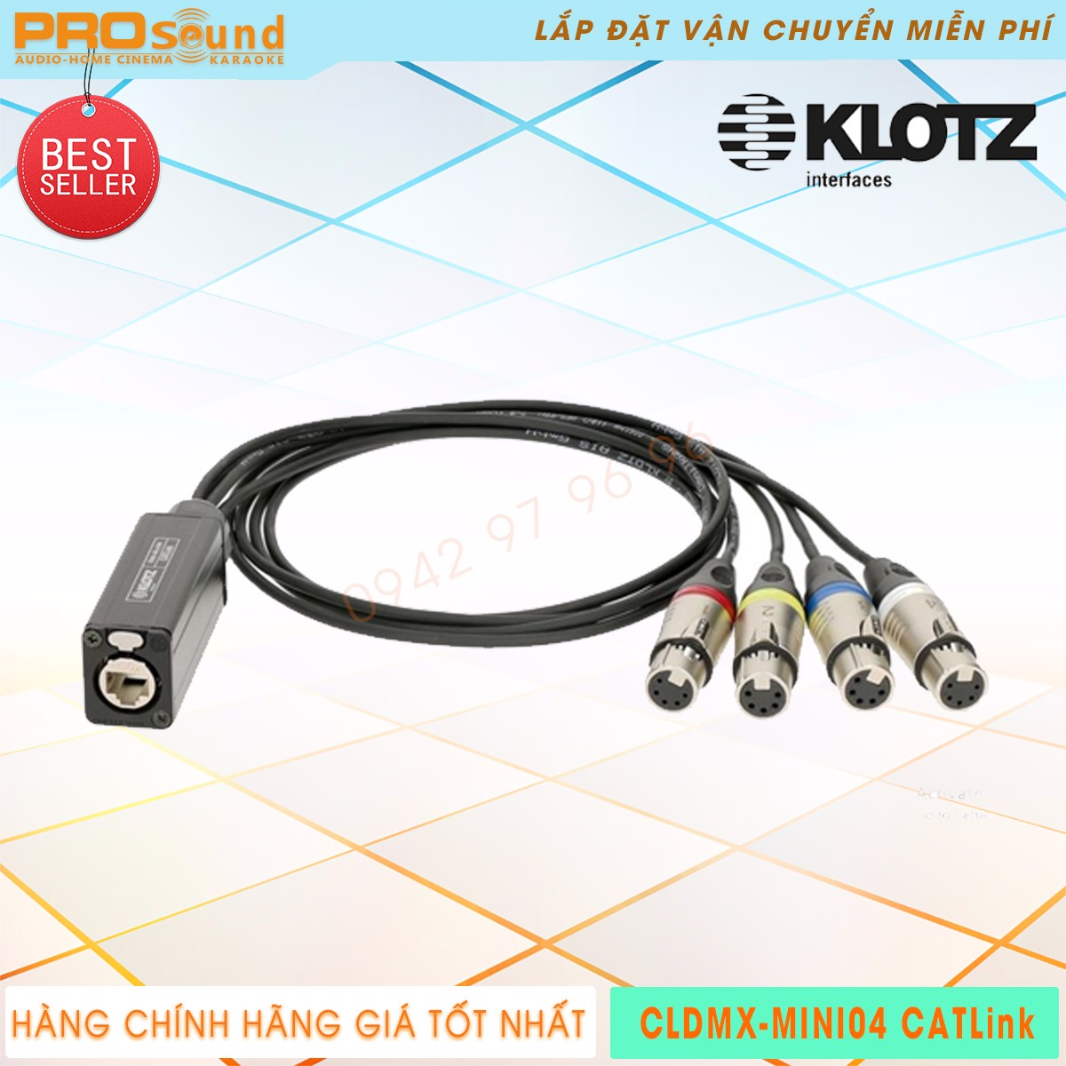 Klotz CLDMX MINI04 Catlink
