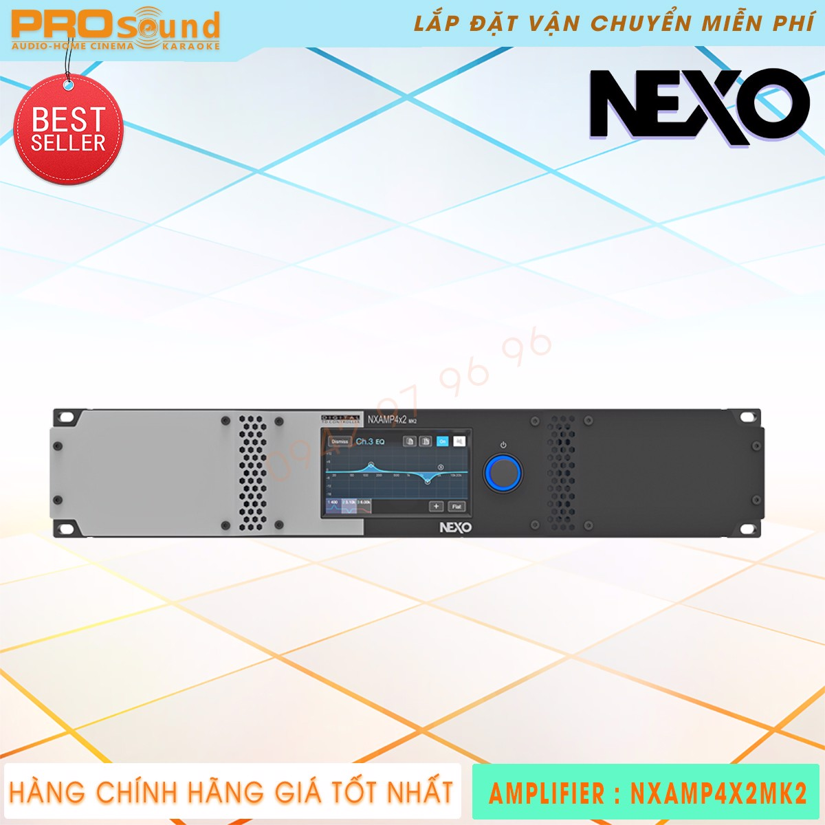 Amplifier Nexo NXAMP4X2MK2