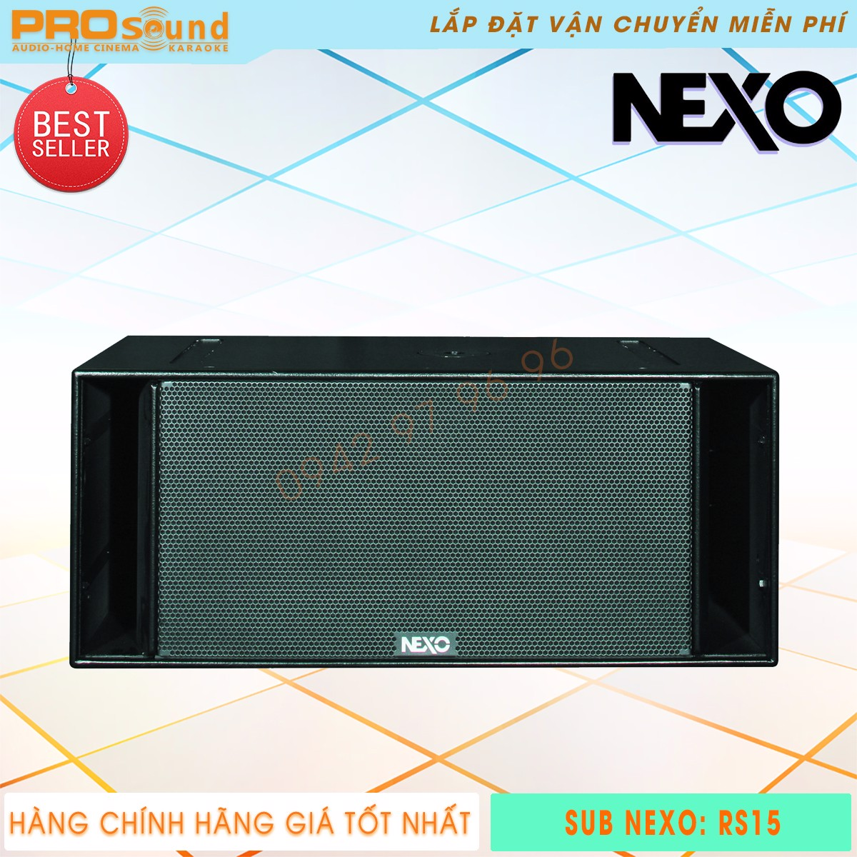 Subwoofer Nexo RS15