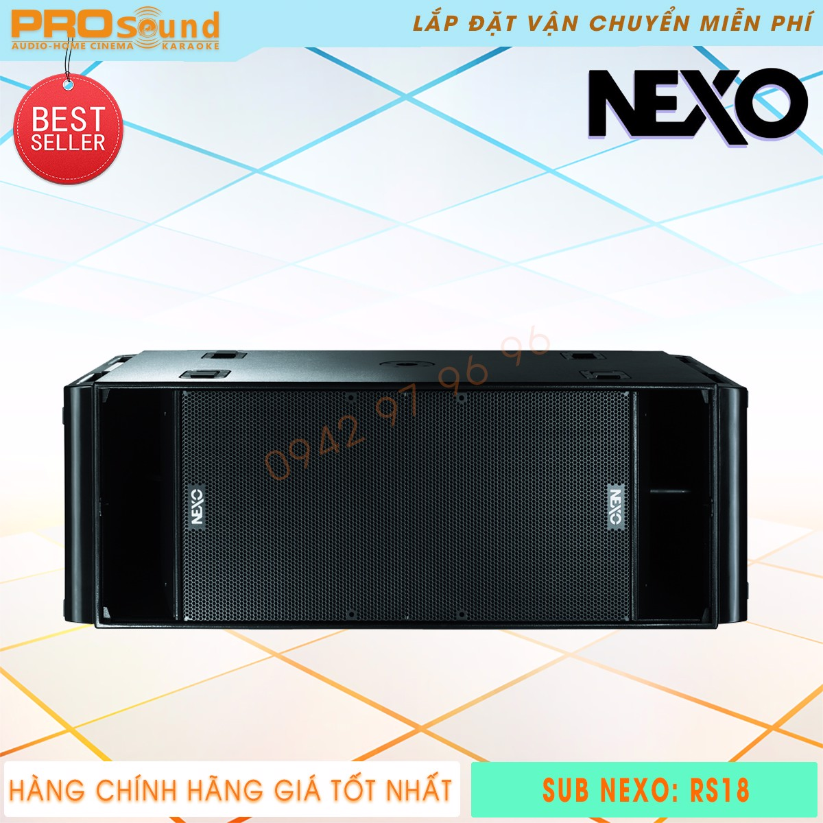 Subwoofer Nexo RS18