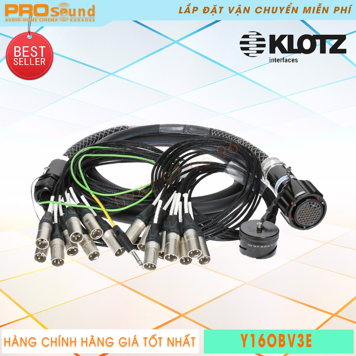 Cable line KLOTZ Y16OBV3E