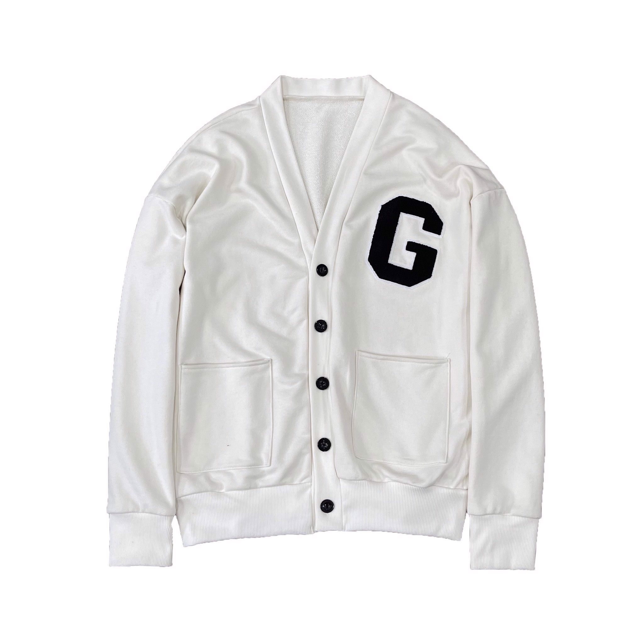 THE G CARDIGAN - CREAM WHITE