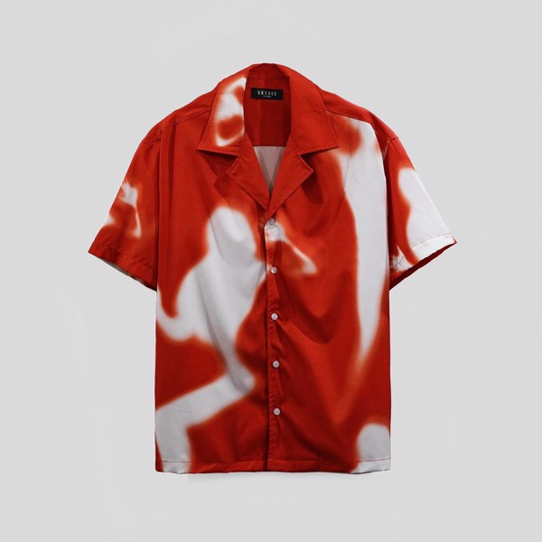 Red Shadow Cuban Shirt