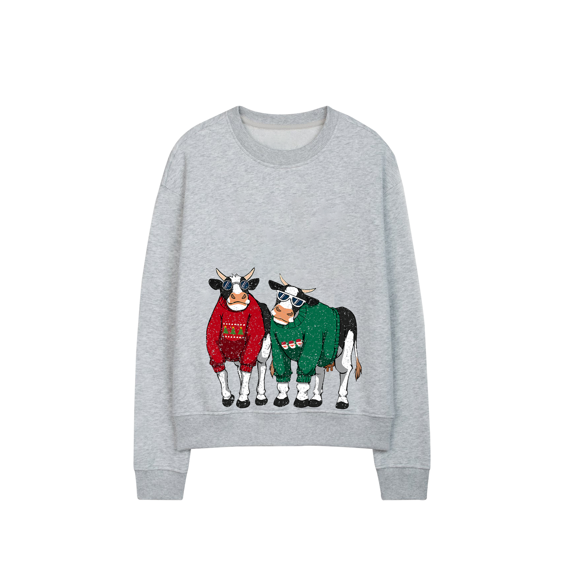 Áo Sweater Merry Christmas xám