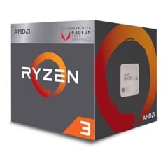 CPU AMD RYZEN 3 2200G 4C/4T 3.5Ghz (TURBO 3.7Ghz)