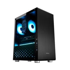Vỏ case Jonsbo U4 Black Edition (Mid Tower/Màu Đen)