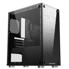 Vỏ case XIGMATEK NYX (EN43040) - M-ATX, 2 SIDE TEMPERED GLASS