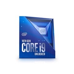 CPU Intel Core i9 10900K (3.7GHz turbo up to 5.3GHz, 10 core 20 Threads , 20MB Cache, 125W)