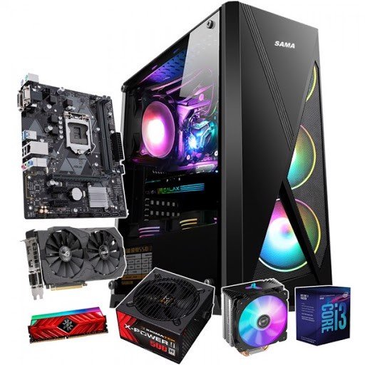 Gaming Intel Core I3-9100F / 8GB / RX470 4GB