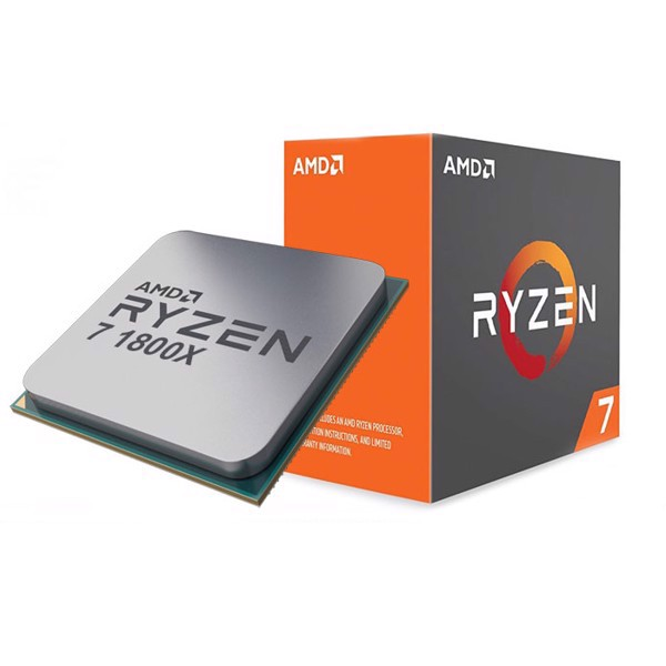 CPU AMD RYZEN 7 1800X 8C/16T 3.6Ghz (TURBO 4.0Ghz)
