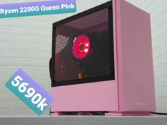 Ryzen 3 2200G Gaming online Queen Pink