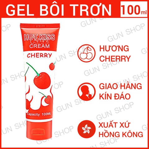 Gel bôi trơn Hot Kiss Cherry