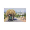 "Bưu thiếp nam châm gỗ ""Do all things with loves"" - WP197"