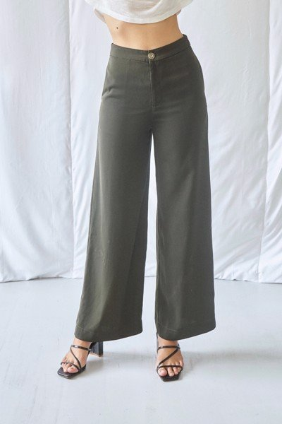 Dark Green Trousers