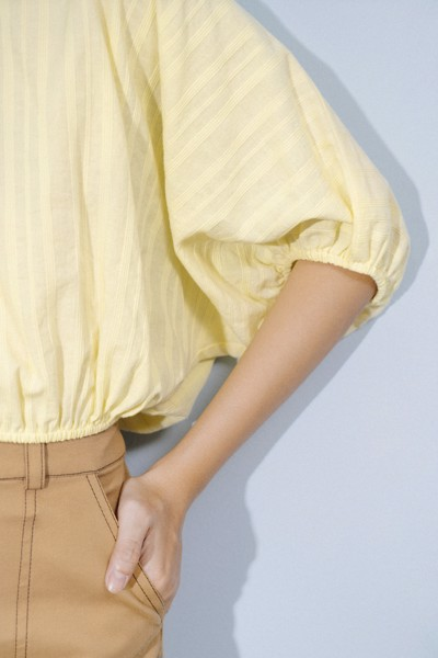 Yellow Voluminous Top