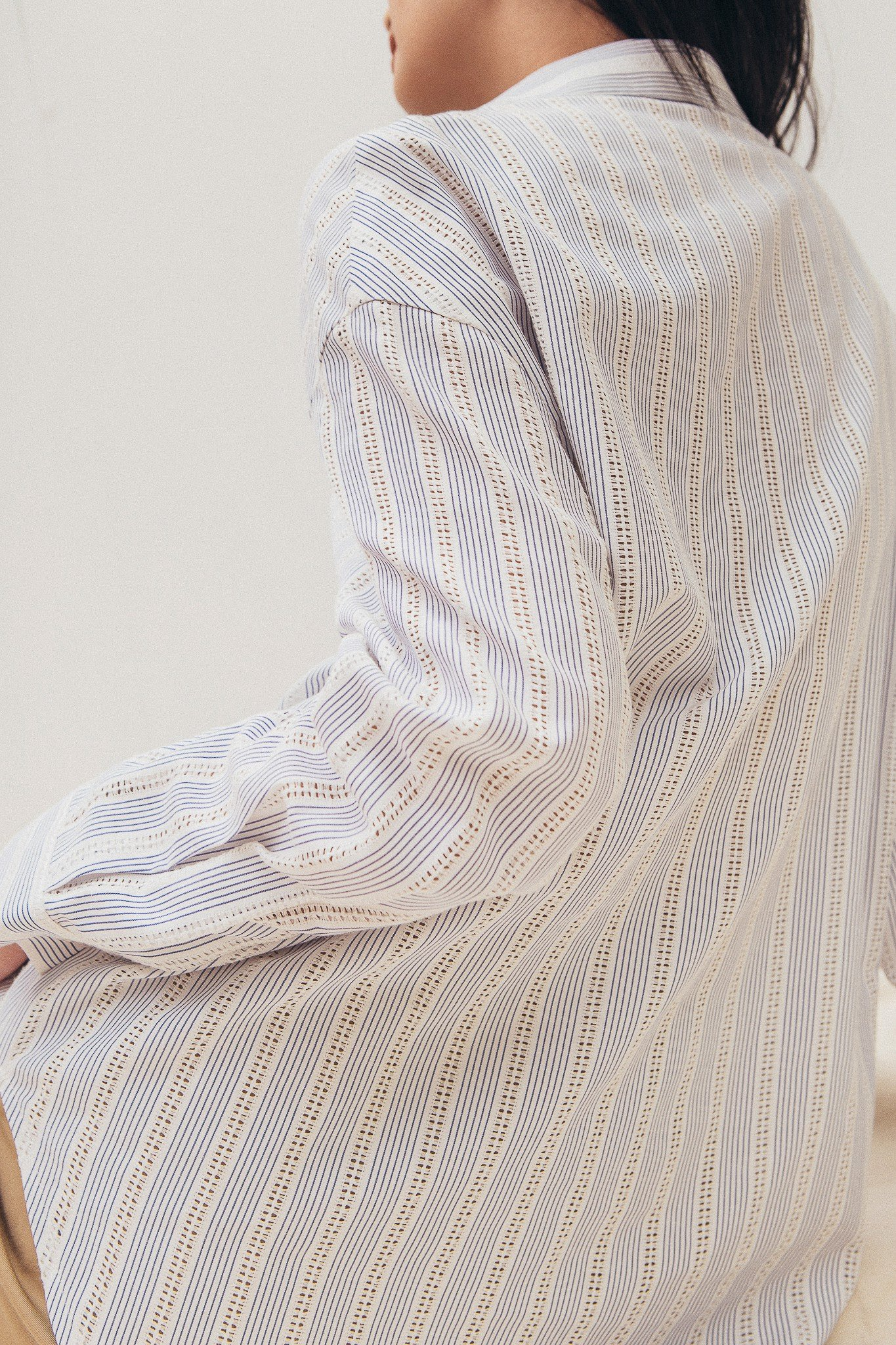 Striped Oversized Shirt