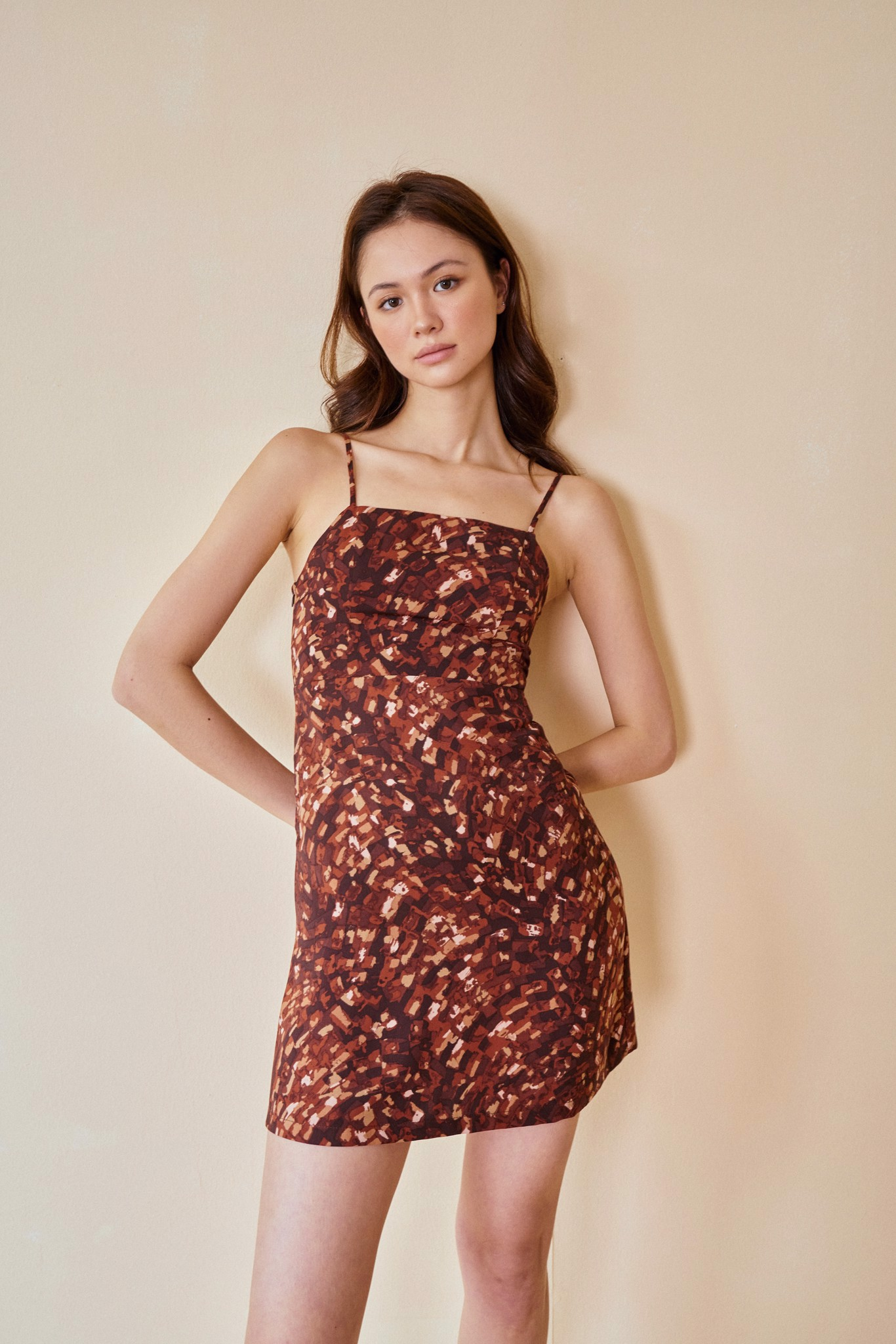 Printed Cami Dress