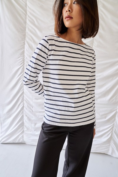 Striped Long Slevee T-Shirt