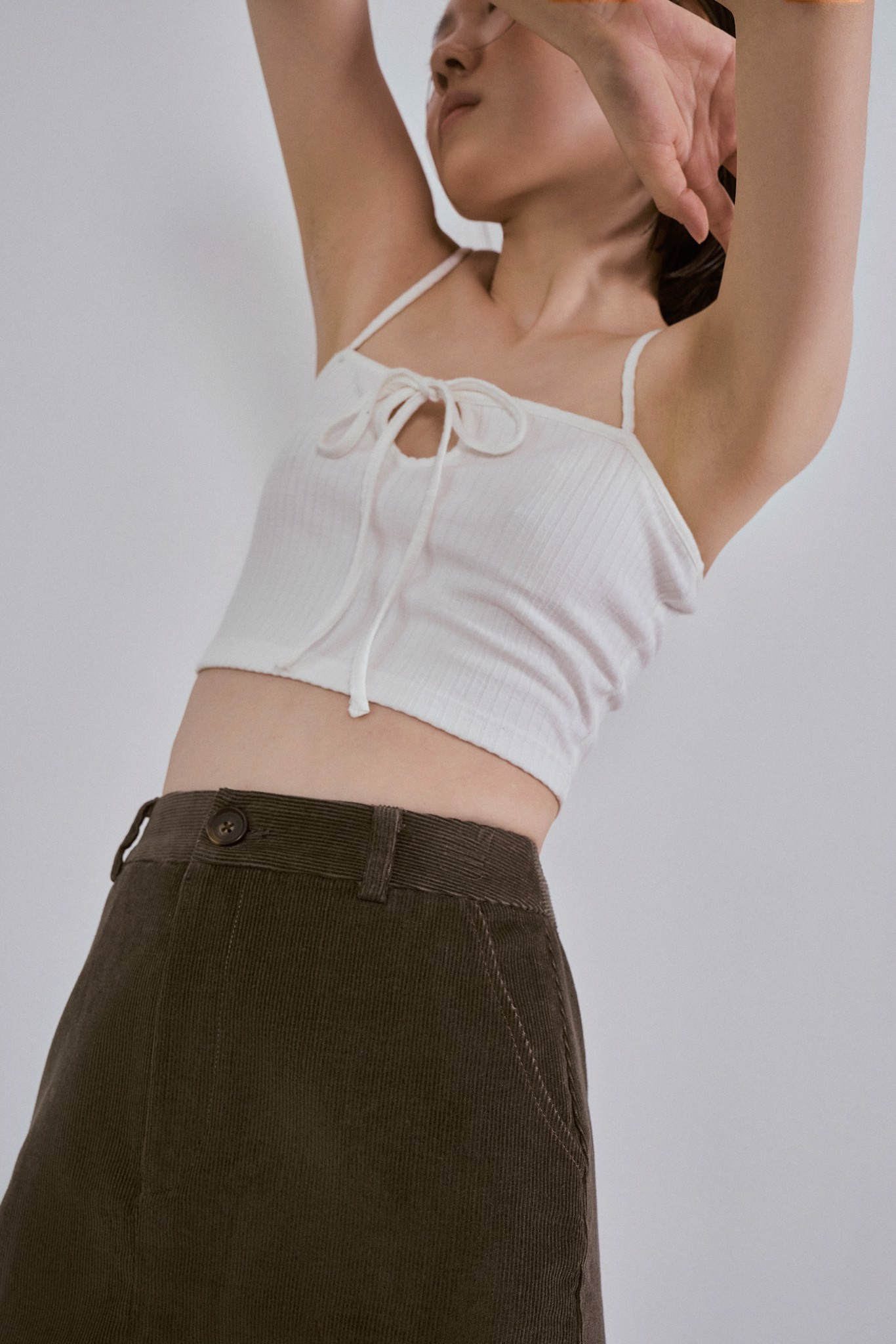 White Knotted Camisole