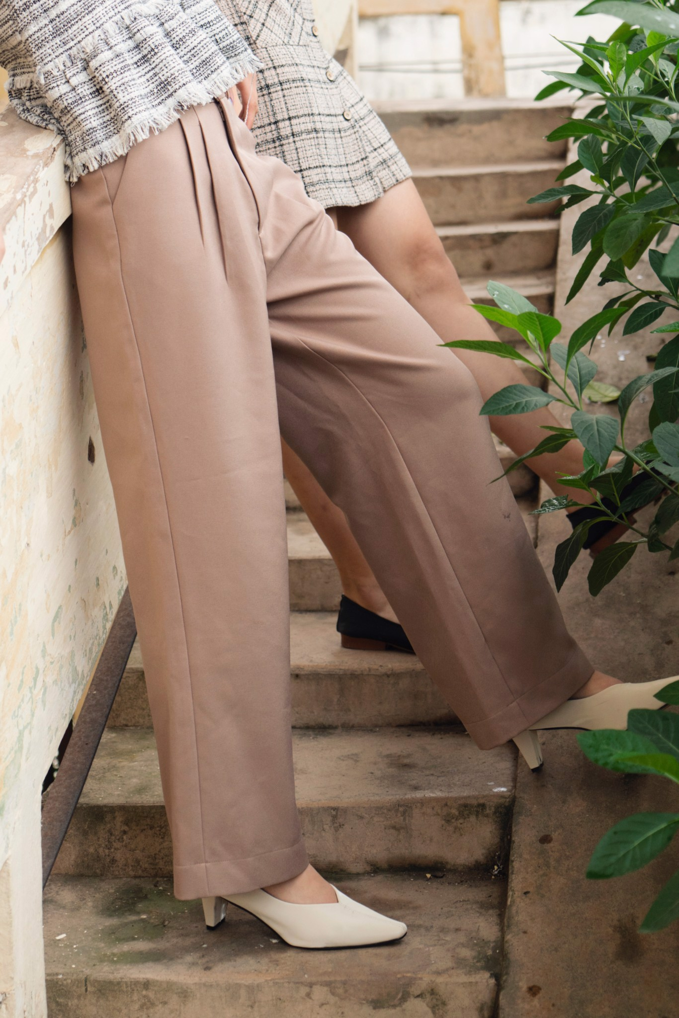 Light Brown Trousers