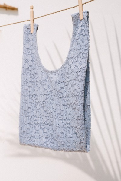 Blue Lace Bag