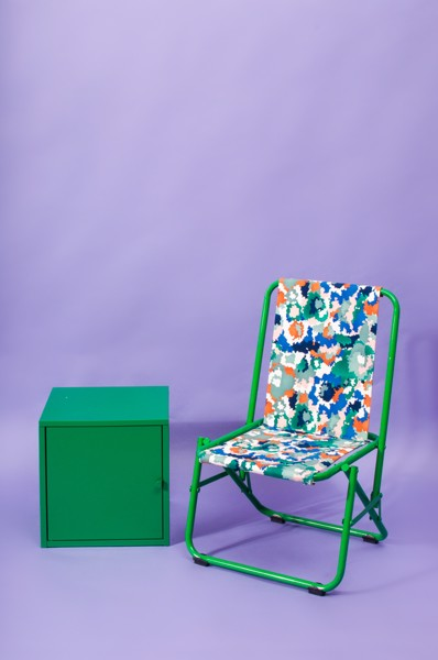 Camo Chair - Green
