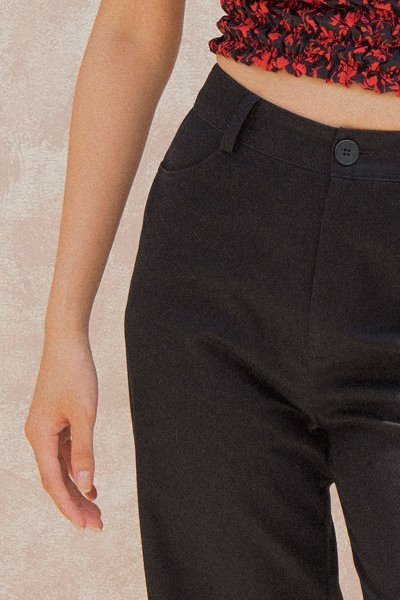 Black Khaki Trousers
