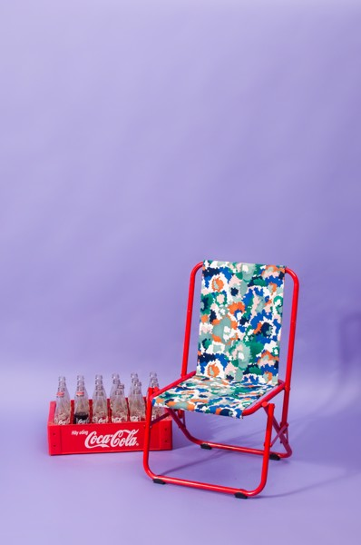 Camo Chair - Red