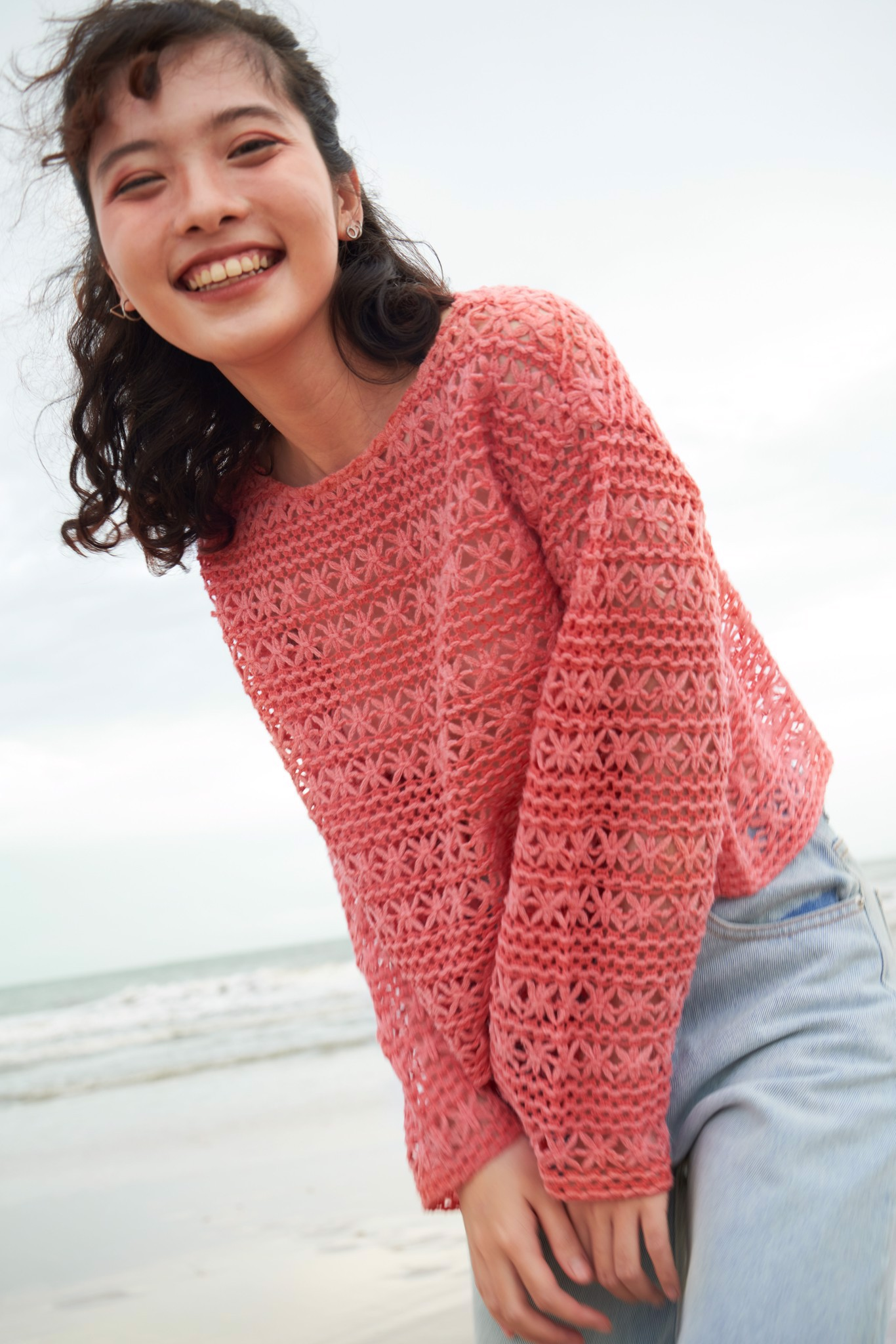Crochet Boatneck Top