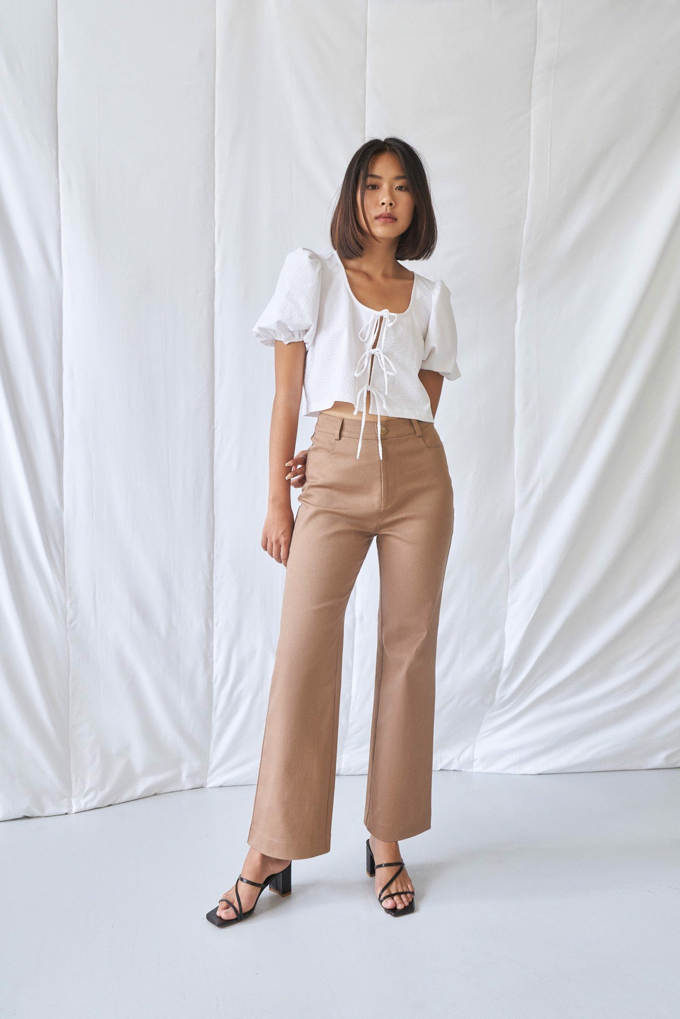 Brown Khaki Trousers