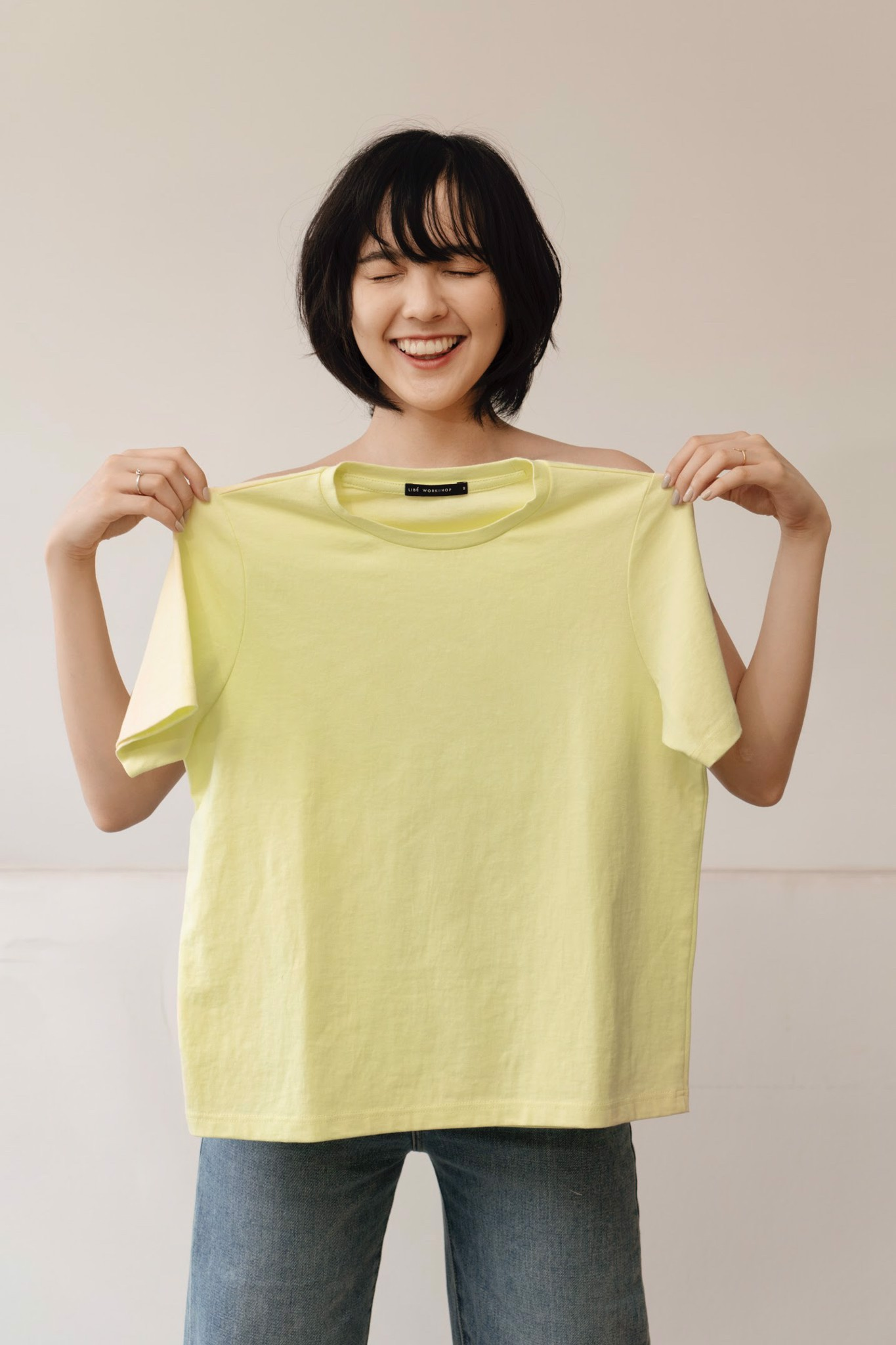 Lime Green Basic T-shirt