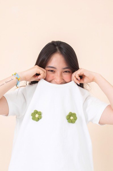 Blooming Tshirt - White