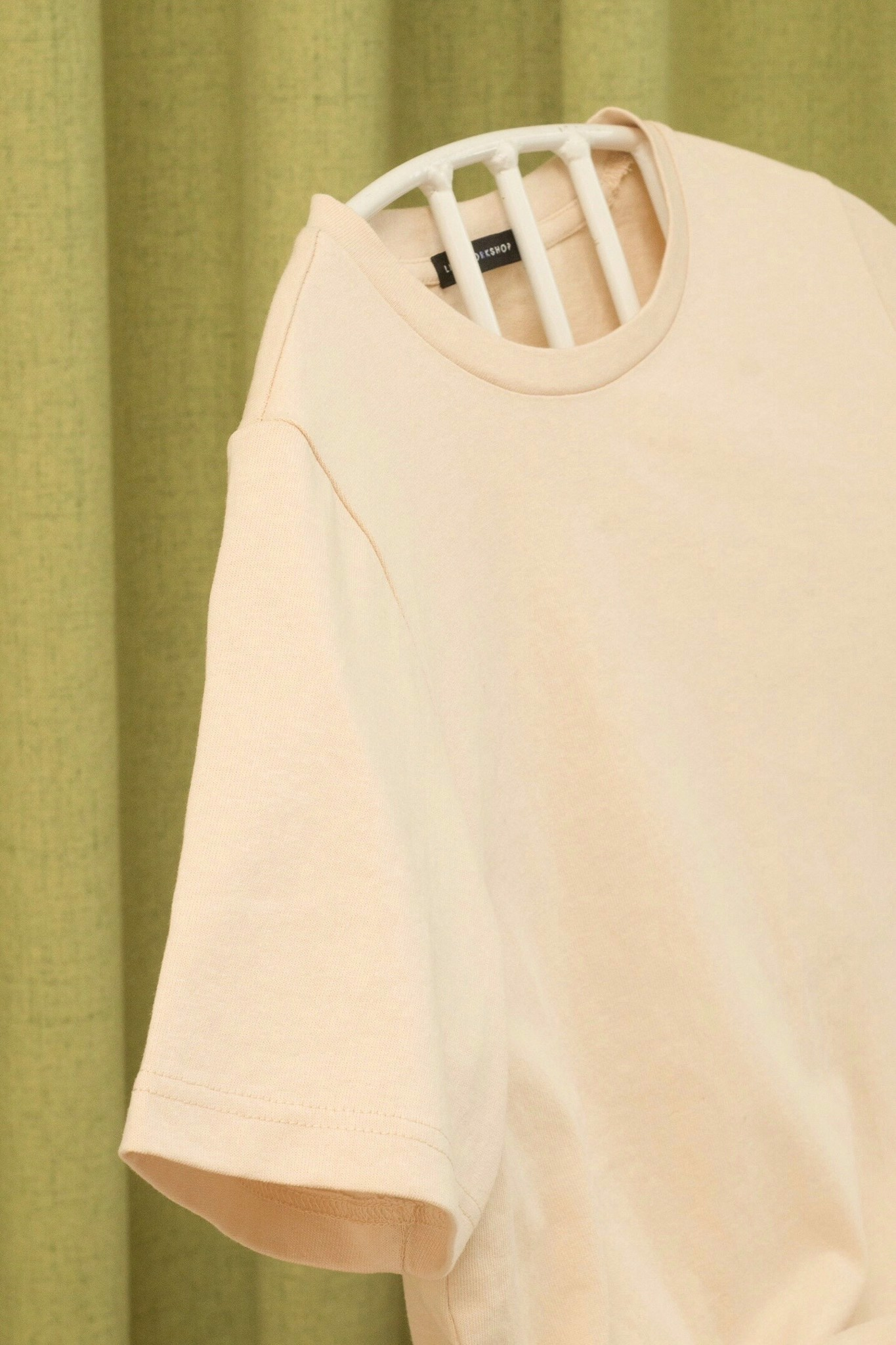 Beige Basic T-shirt