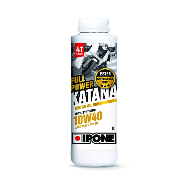 Dầu nhớt IPONE FULL POWER KATANA motor oil 10W40 (100% SYNTHETIC) 1L