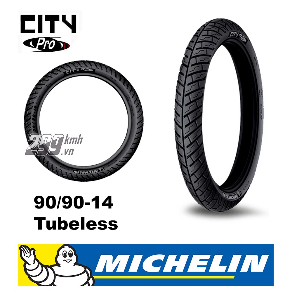 Vỏ xe Michelin City Grip Pro 90/90-14