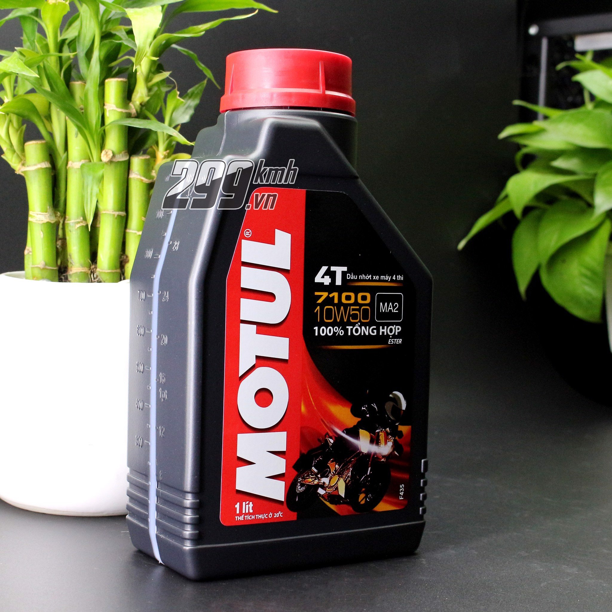 Nhớt Motul 4T 7100 10W50 - 100% Synthetic 1L/1L1/1L3