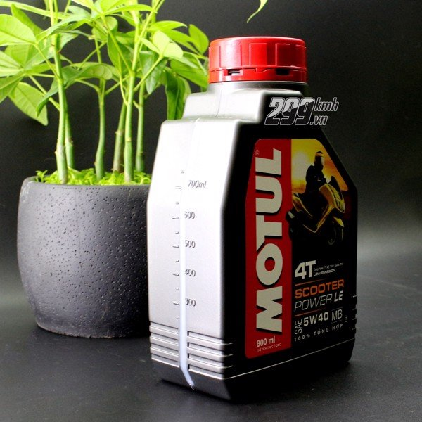 Nhớt Motul Scooter Power LE 5W40 800ml
