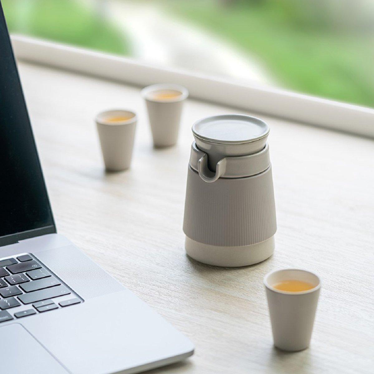Bộ trà du lịch hiện đại thiết kế sang trọng nhỏ gọn 230ml