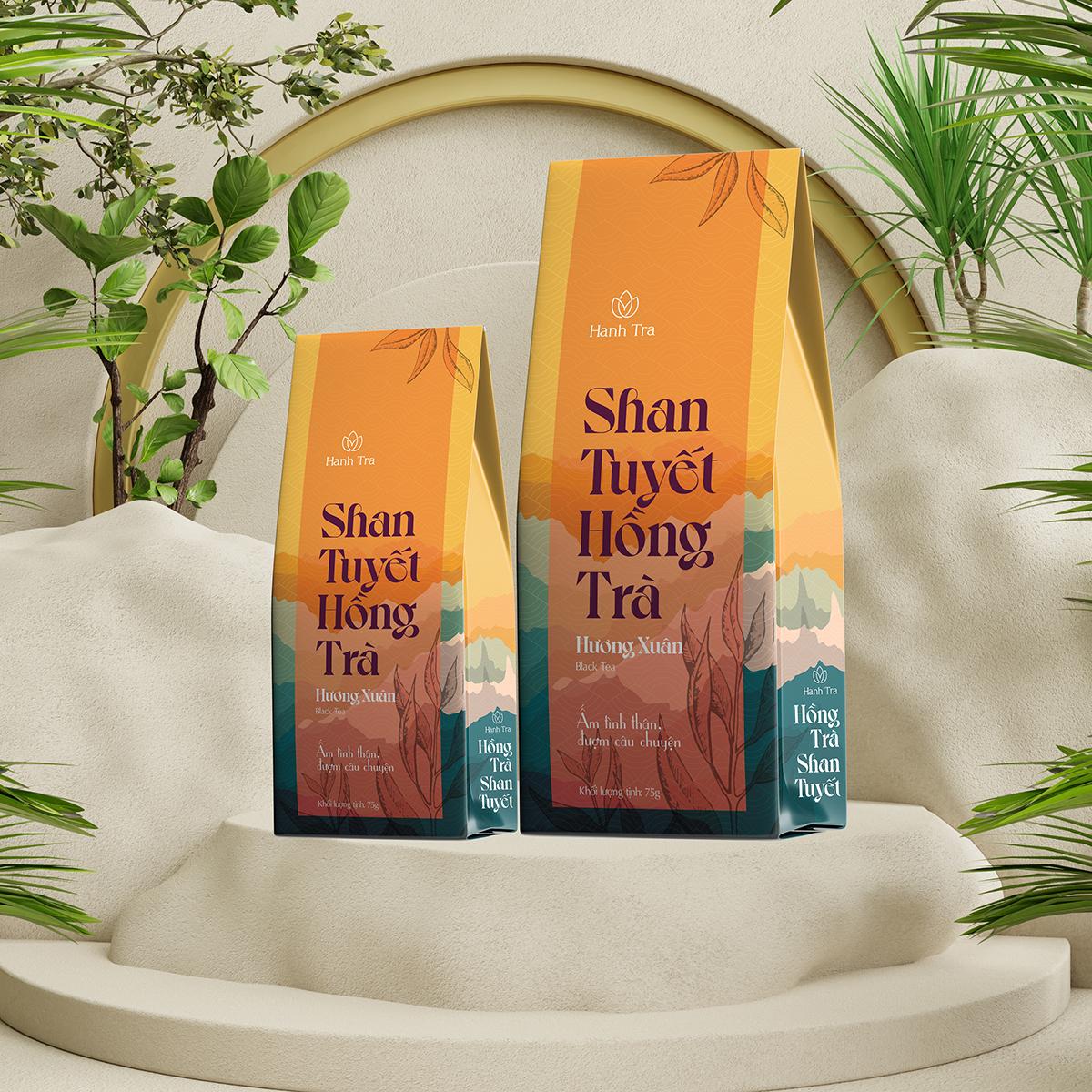 Shan Tuyết Hồng Trà Hương Xuân Cao Cấp 75g - Black Tea