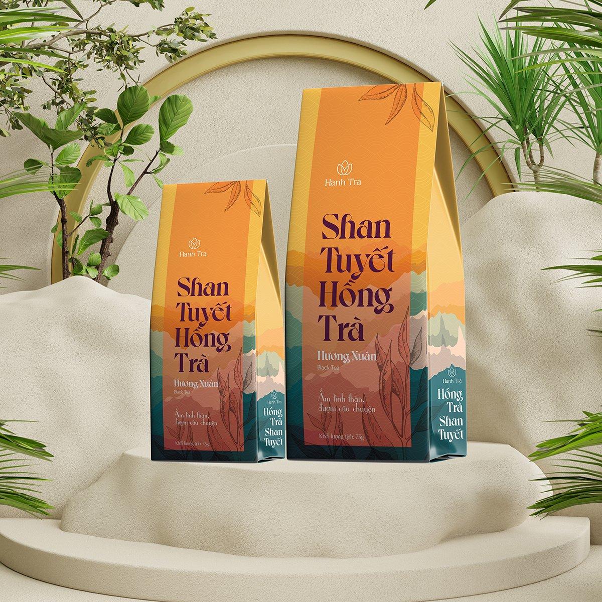 Shan Tuyết Hồng Trà Rừng Cổ Thụ Thượng Hạng 35g - Black Tea