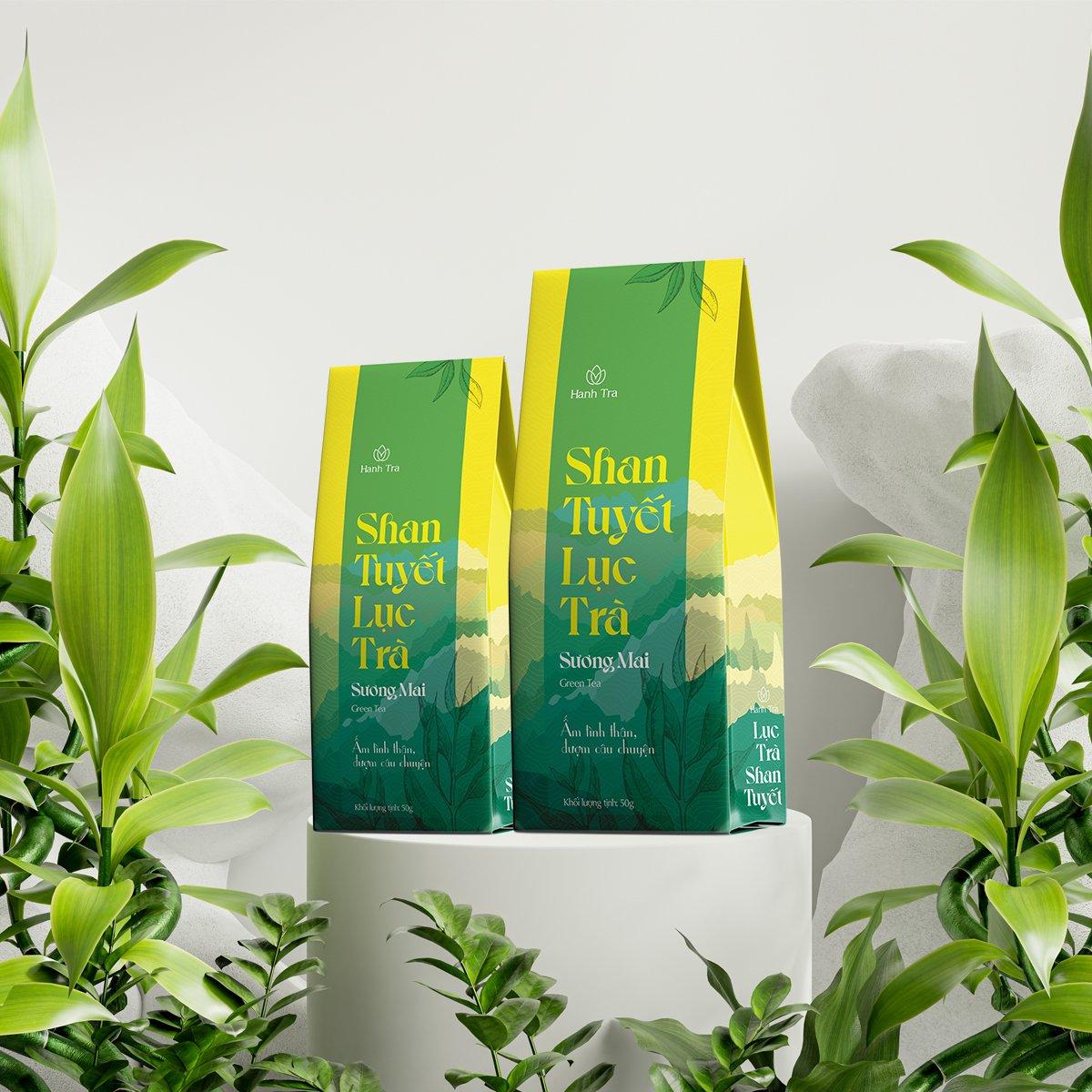 Chè Xanh Shan Tuyết Cao Cấp 50g - Green Tea