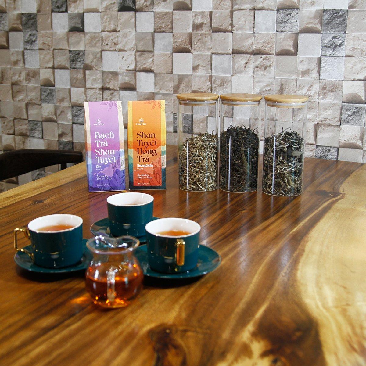 Shan Tuyết Bạch Trà Kim Cao Cấp 35g - White Tea
