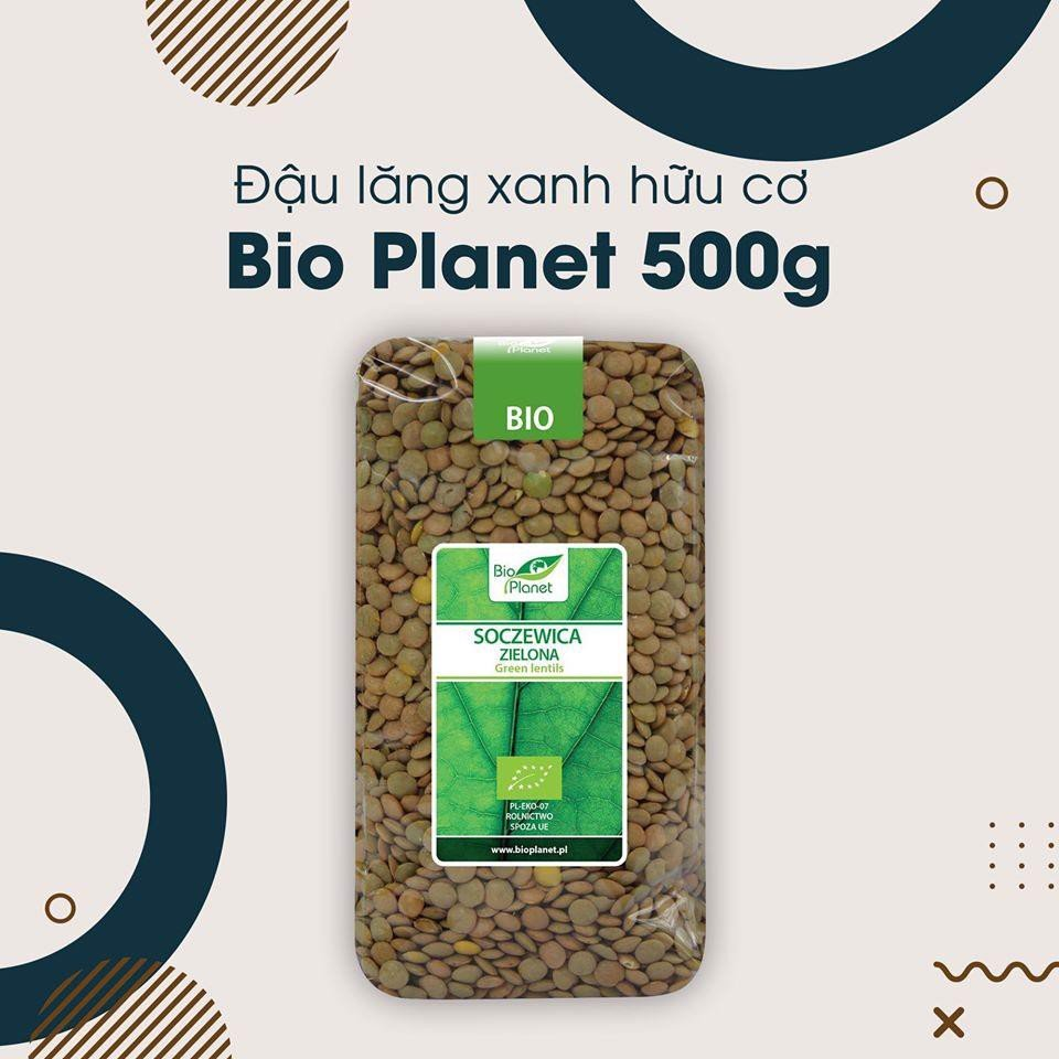 dau lang xanh huu co bio planet 500g