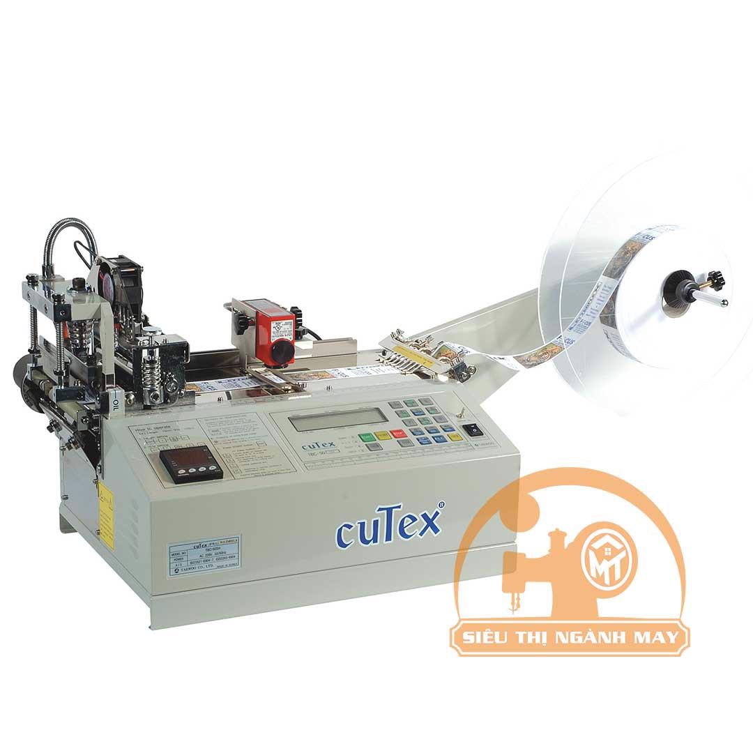 Máy cắt Nhãn bằng dao nhiệt  Hiệu Cutex TBC-50SH