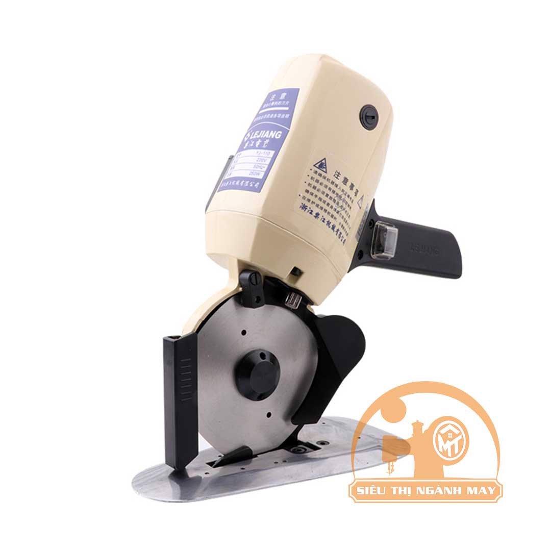 Máy cắt vải cẩm tay khổ dao 110mm hiệu LEJIANG YJ-110