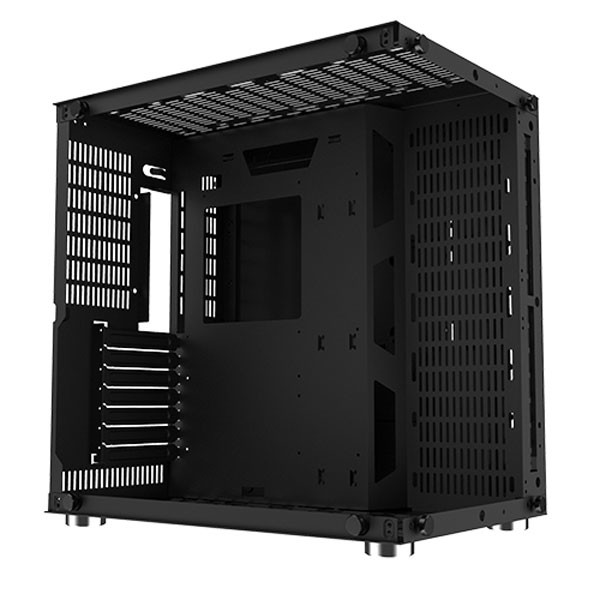 EN43330 -Vỏ máy tính Xigmatek Aquarius Plus Black ( No fan)